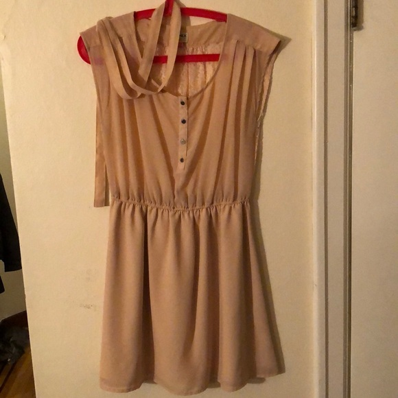 ONLY - Pink button up dress